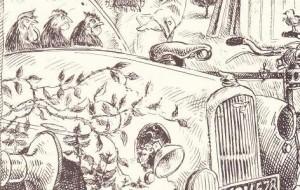 Hen coop car