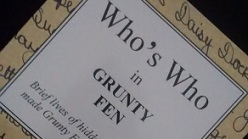 Who's Who in Grunty Fen